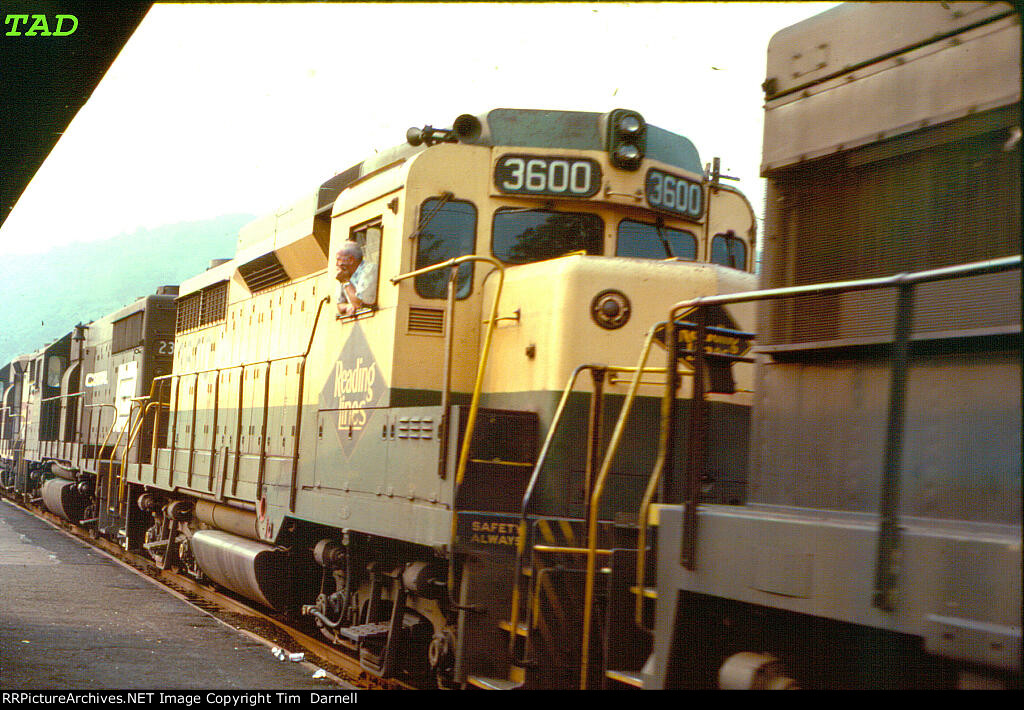 RDG 3600 on freight BM-4